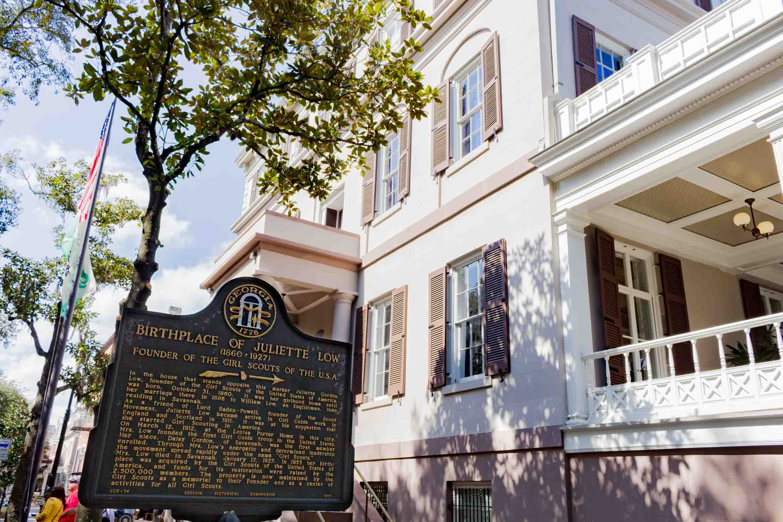 Birthplace of Juliette Low