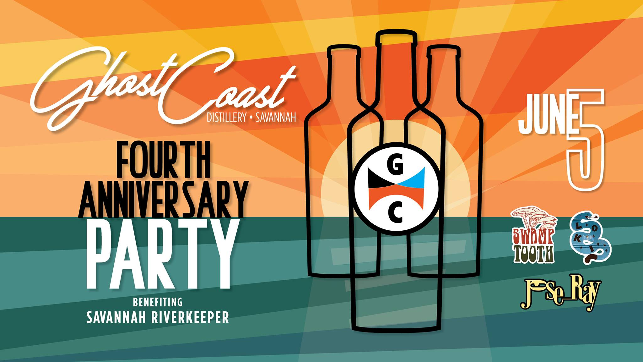 Ghost Coast 4th Anniversary Party