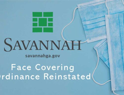 Savannah Face Covering Ordinance Reinstated